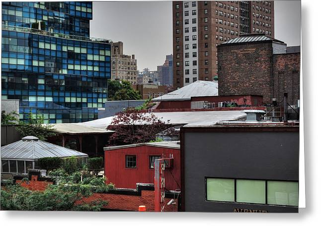 Manhattan - Chelsea 003 Greeting Card by Lance Vaughn