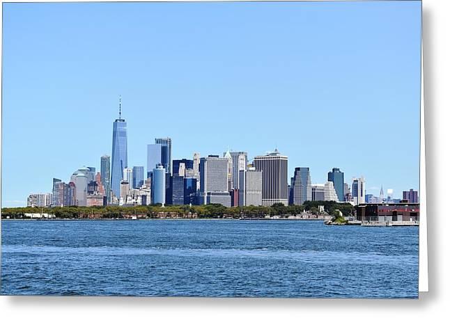 Manhattan Skyline 1 Greeting Card