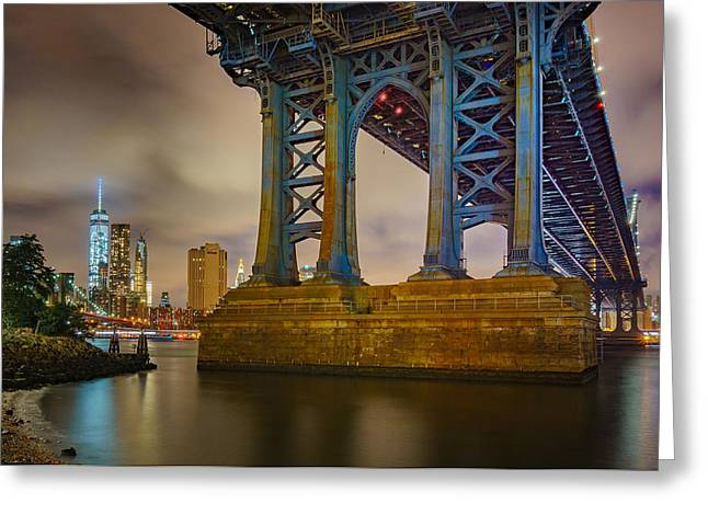Manhattan Steel Greeting Card