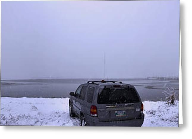 Manitoba Flooding Greeting Card