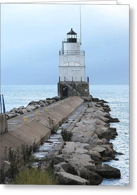 Manitowoc Breakwater Lighthouse  Greeting Card