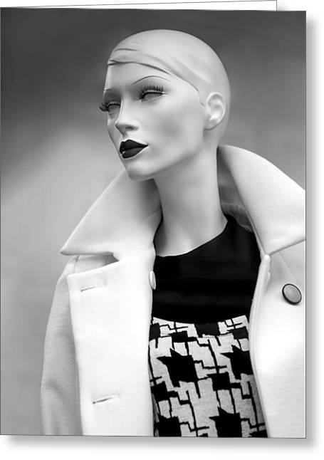 Mannequin 117 Greeting Card