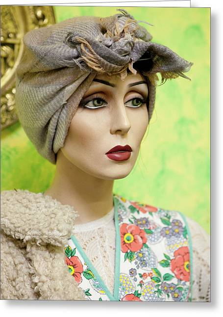 Mannequin 42 Greeting Card by David Hare
