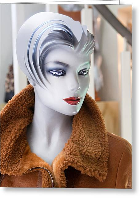 Mannequin 74a Greeting Card