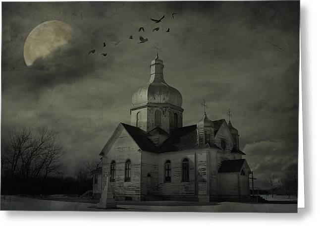 Canadian Photographers Greeting Cards - Mannerisms Of Midnight  Greeting Card by Jerry Cordeiro