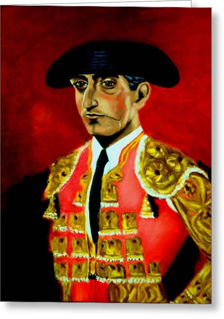 Manolete  Greeting Card