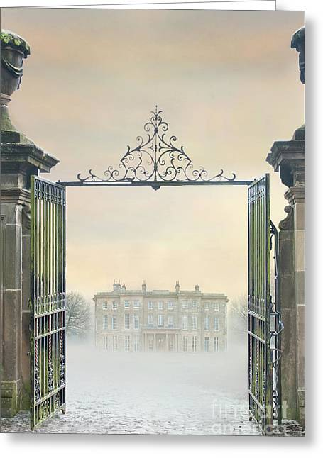 Mansion House Greeting Card by Lee Avison