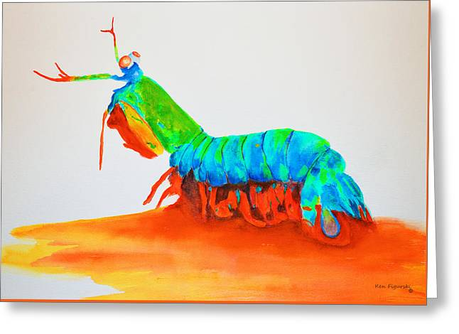 Mantis Shrimp Greeting Card