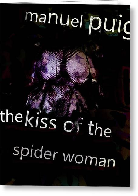 Manuel Puig Spider Woman Poster  Greeting Card