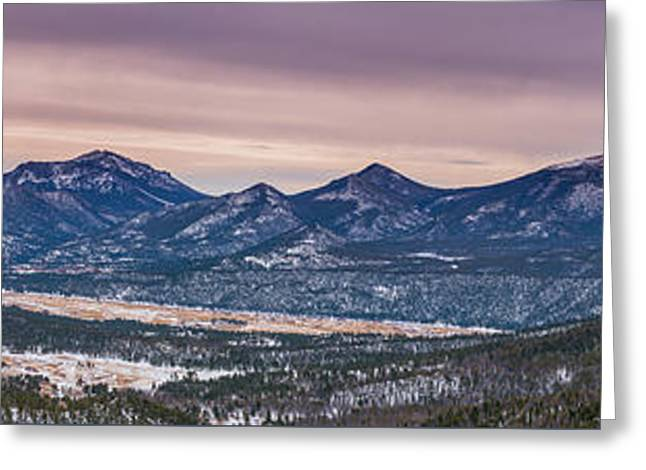 Many Parks Pano Greeting Card by Darren White