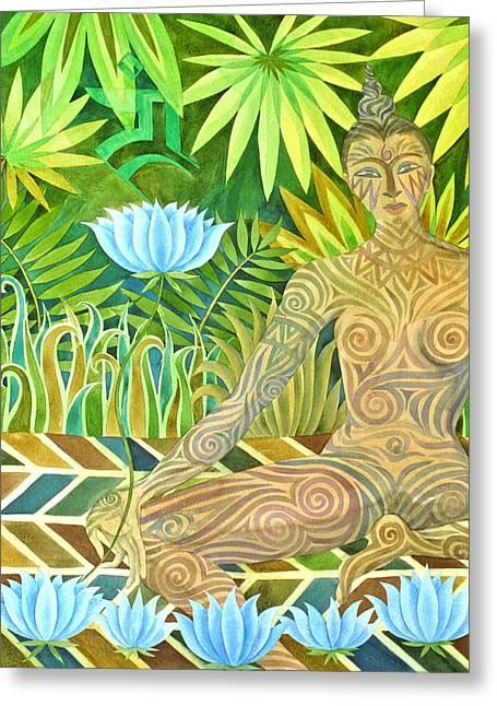 Maori Tara  Greeting Card