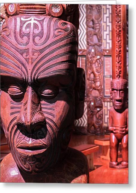 Maori Greeting Card