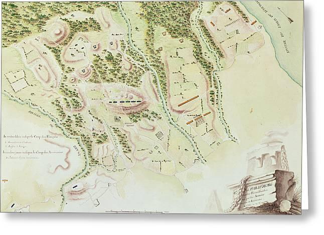 Map Of Phillipsburg Greeting Card