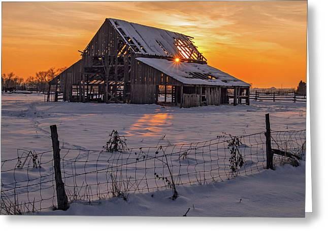 Mapleton Barn Greeting Card