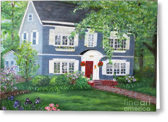 Maplewood Colonial Greeting Card