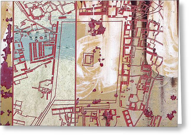 Maps #27 Greeting Card