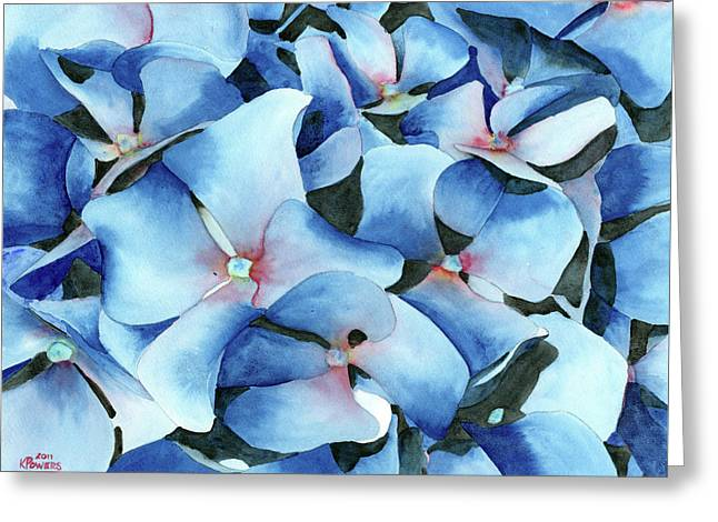 Marathon Hydrangeas Greeting Card