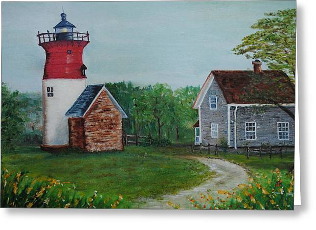 Marbelhead Lighthouse Greeting Card