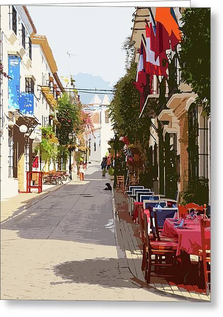 Marbella, Andalusia - 03 Greeting Card by Andrea Mazzocchetti