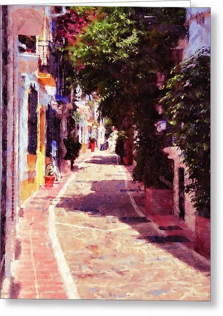 Marbella, Andalusia - 04 Greeting Card by Andrea Mazzocchetti