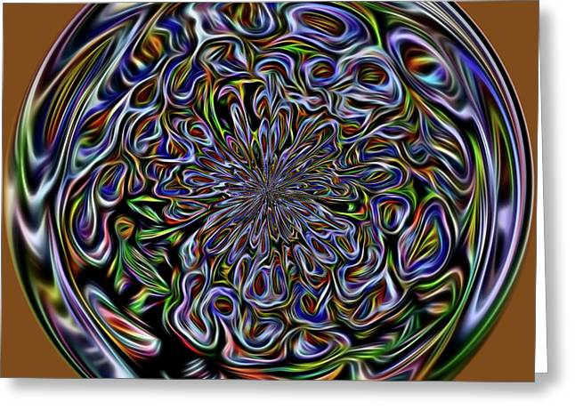 Marble Greeting Card by Terry Weaver