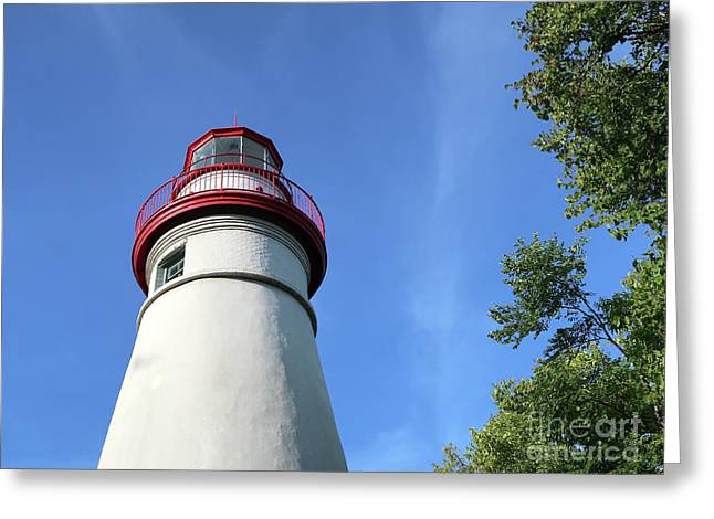 Marblehead Lighthouse In Ohio Greeting Card