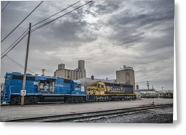 March 18. 2015 - Evansville Western Railway Greeting Card