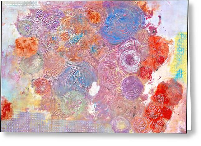 Marche Au Fleurs Greeting Card