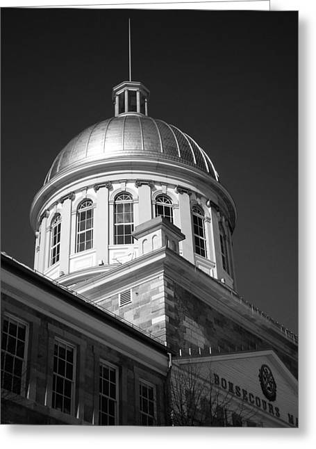 Markt Greeting Cards - Marche Bonsecours  Greeting Card by Juergen Weiss