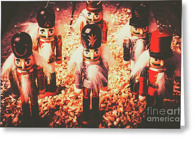 Marching In Tradition Greeting Card by Jorgo Photography - Wall Art Gallery