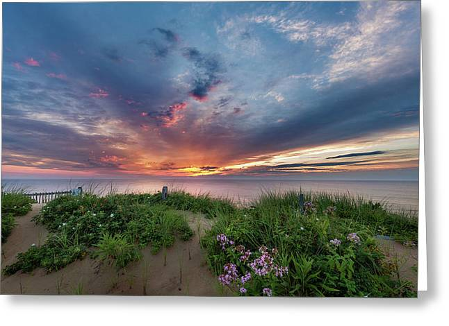 Marconi Station Sunrise Greeting Card