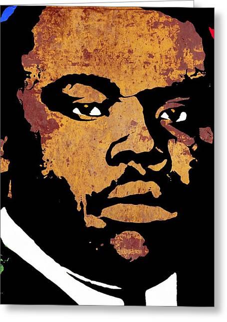 Marcus Garvey 2 Greeting Card by Otis Porritt