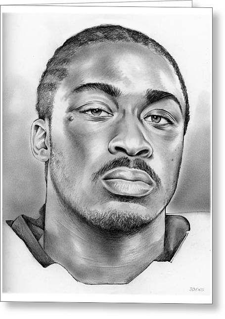 Marcus Lattimore Greeting Card by Greg Joens