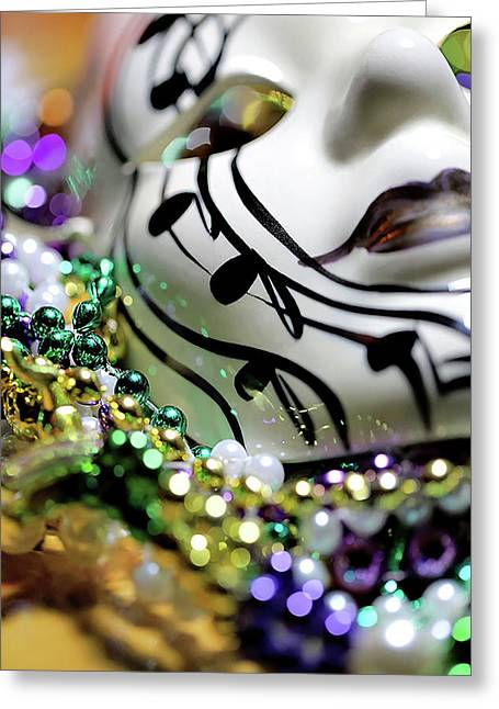 Mardi Gras I Greeting Card