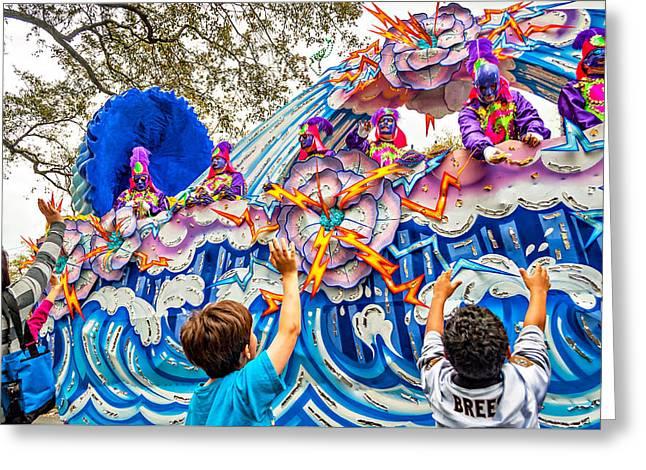 Mardi Gras - New Orleans Greeting Card by Steve Harrington