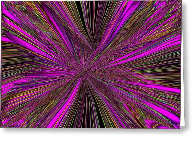 Mardi Gras Greeting Card by Tim Allen