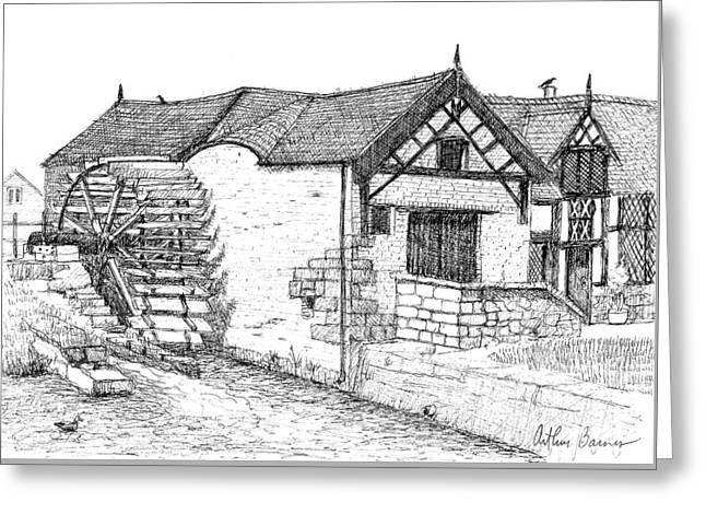 Marford Mill Greeting Card