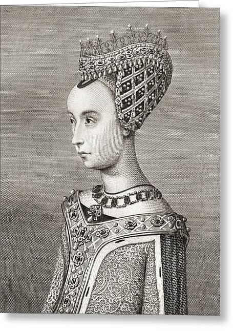 Margaret Of Denmark, 1456 Greeting Card
