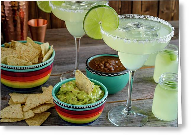 Margarita Party Greeting Card