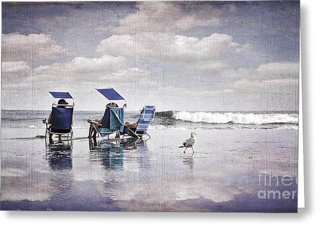 Margate Beach Relaxation Greeting Card