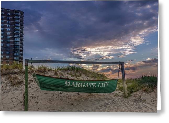 Margate City Greeting Card by Capt Gerry Hare