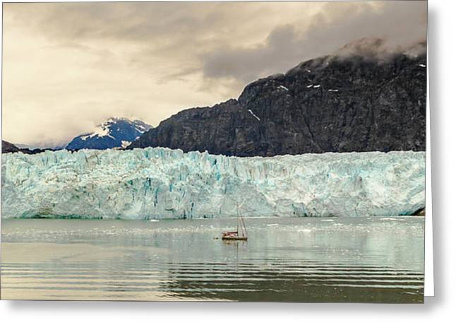 Margerie Glacier Greeting Card