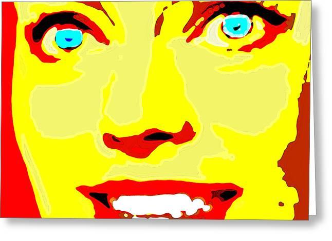Margot Robbie. Greeting Card