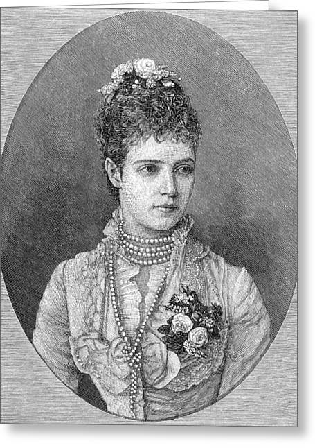 Maria Fyodorovna Greeting Card by Granger