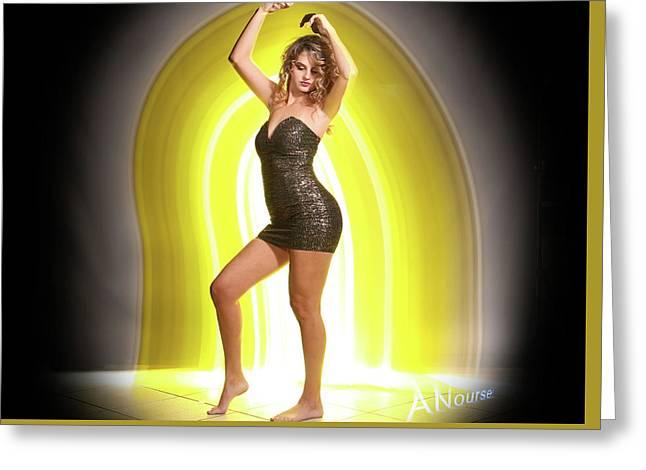 Maria Glow Greeting Card