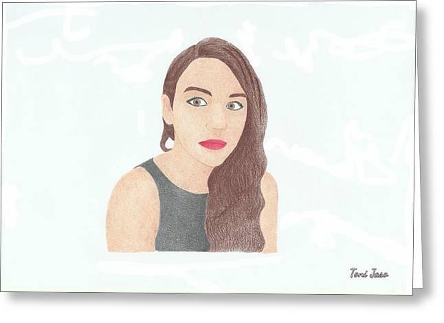 Mariand Castrejon - Yuya Greeting Card