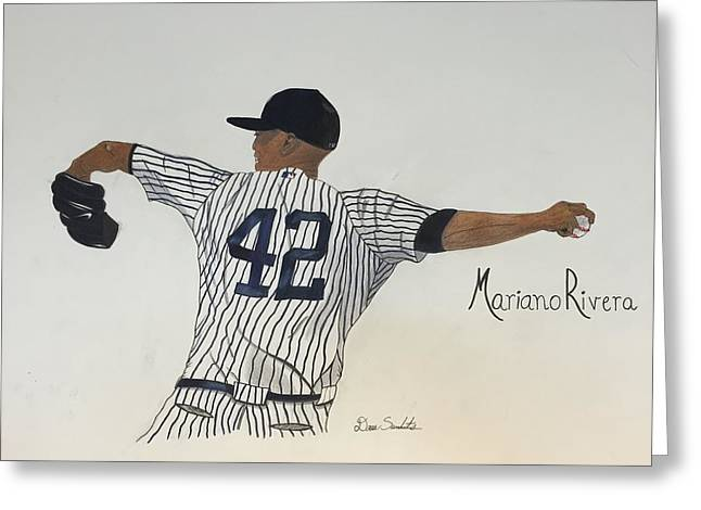 Mariano Rivera Greeting Card