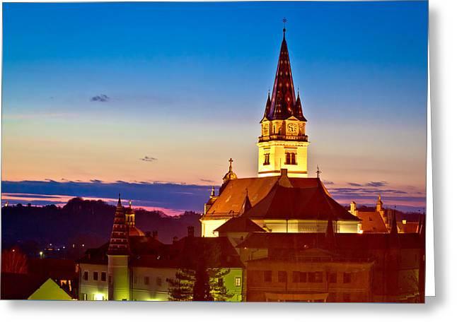 Marija Bistrica Marianic Shrine Church Greeting Card