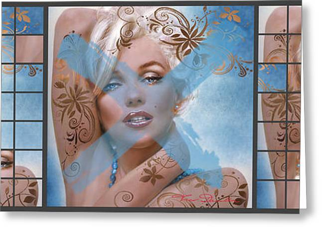 Marilyn 127 Tryp Greeting Card