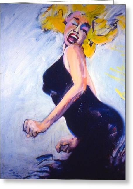 Marilyn Dancing Greeting Card